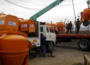 Mezcladora concreto trompo 11 p3 motor gasolina 16 hp s/. 3,480.00 (999097204) (998368848)