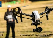Filmación con drones en alta calidad full hd, fotos y videos