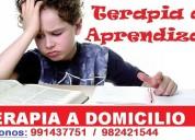 Terapia de aprendizaje a adomicilio