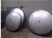 Bombeado, pestaÑado de tapas - inox, domex, acero al carbono