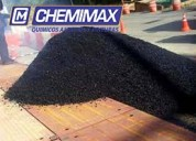 Venta x volquete, asfalto en frío y caliente, asfalto líquido x galón y cilindro, brea dura 180°