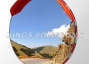 Espejo panorámico de acero inoxidable en peru- 100 cm. ¡irrompible!
