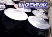 Chemimax! venta de asfalto rc250, mc30, pen 60.70, emulsión asfáltica x galón y cilindro