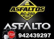 Super venta de asfalto rc-250, asfalto imprimante mc-30.