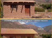 Mejores viviendas y mas economicas con ladrillos ecologicos
