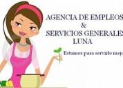 Agencia de empleos y servicios generales luna