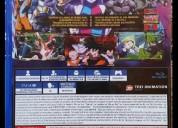 Dragon ball fighter z para playstation 4 original nuevo sellado