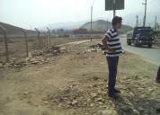 Carabayllo vendo terrenos 9 hectares $50m2, en urb. sta. maria de carabayllo