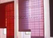 991153920 venta y confección de cortinas para decorar sus ventanas decoservice