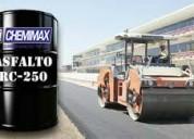Chemimax! venta de asfalto rc250, mc30, pen 60.70, manto asfÁltico, bitÚmen