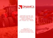 ImportaciÓn y venta de repuestos para tractores