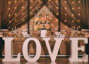 Fantastica decoracion para bodas de parejas, quinceaños, funerales, conquistas