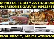 Compro todo antiguedades y en general inversiones galvÁn 925835368
