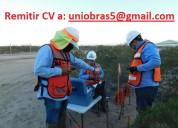 Ingeniero  especialista mecÁnica de suelos y/o  geotecnia