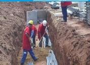 Ingeniero en equipamiento electromecÁnico y elÉctricos en obras de saneamiento: