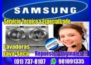 Garantizados!! 981091335 servicio de lavasecas samsung en la victoria
