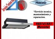 980141881 mantenimiento y reparacion para campanas haceb