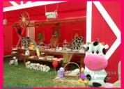 La granja fiestas infantiles  gallinita pintadita