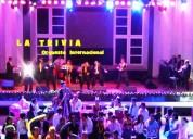 Orquesta show para matrimonios fiestas aniversarios cumpleaños orquesta la trivia cel 996281180