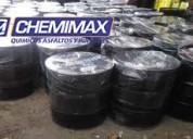 venta de asfalto rc250 en cilindro, calidad y garantÍa chemimax, manto gravillado