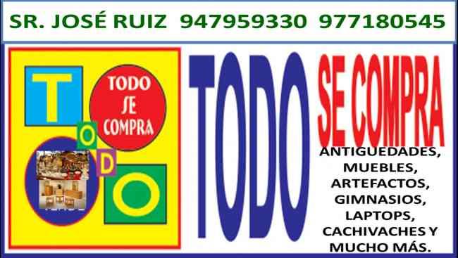 Sr Jose Ruiz Tekomprotodo y antiguedades pago al contado 977180545