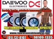 Servicio técnico de lavadoras daewoo 7378107