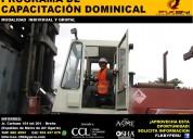 cursos dominicales: rigger-montacargas-grÚas-plata