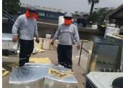 Fabricación de ductos para aa,cocinas,extractores, campanas.
