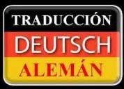 Traduccion certificada y oficial de aleman-lima
