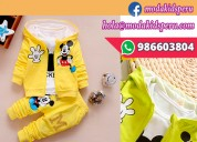 Conjunto de ropa para niños de mickey mouse moda