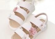Sandalia de flores para niñas moda kids perú