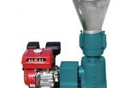 Peletizadora meelko 120 mm 7.5 hp gasolina para co