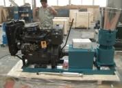 Peletizadora meelko 360mm 55 hp diesel para alfalf