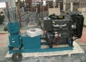Peletizadora  meelko 260mm 35 hp diesel para alfal