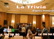 Orquesta de mÚsica variada para fiestas matrimonio