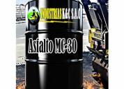 Venta de asfalto mc-30 / mc-70