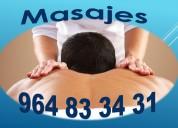 Masajes con técnicas de relajación para hombres
