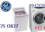 Servicio tecnico lavadora general electric