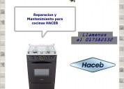 017582532 cocinas de la marca haceb mantenimiento