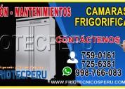 CÁmaras de conservaciÓn/7590161/mantenimiento