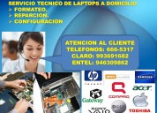 Servicio tecnico especializado de laptops lenovo,