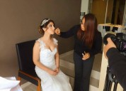 Maquillaje y peinado para novias, cel:991600039