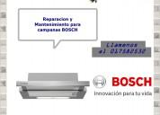 017582532 mantenimiento para campanas bosch