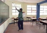 fumigaciones colegios, recarga de extintores 9920