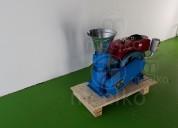 Peletizadora meelko 120 mm diesel 8 hp mixta mkfd1