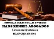 Demandas de divorcio