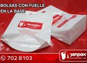 Bolsas con fuelles - janpax