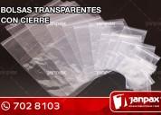 Bolsas con cierre hermetico - janpax