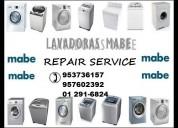 mabe servicio tecnico lavadoras cocinas al 2916824