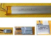 Baterías de polímero de litio 3 7v